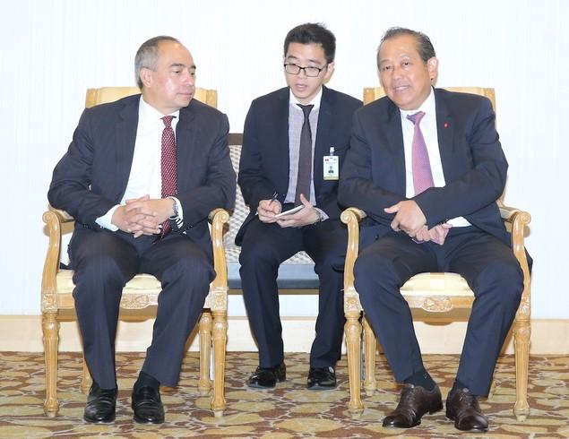 Phó Thủ tướng Thường trực Chính phủ chào xã giao Thủ tướng Malaysia - ảnh 2