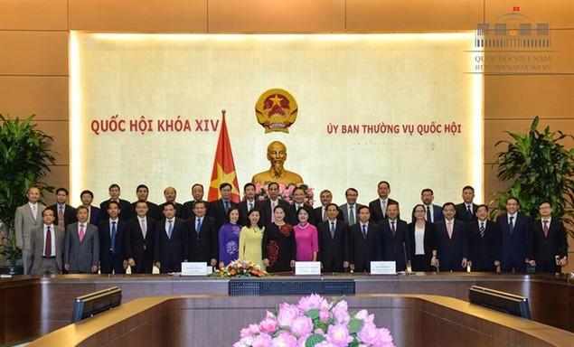 Chủ tịch Quốc hội tiếp các trưởng cơ quan đại diện Việt Nam ở nước ngoài - ảnh 1