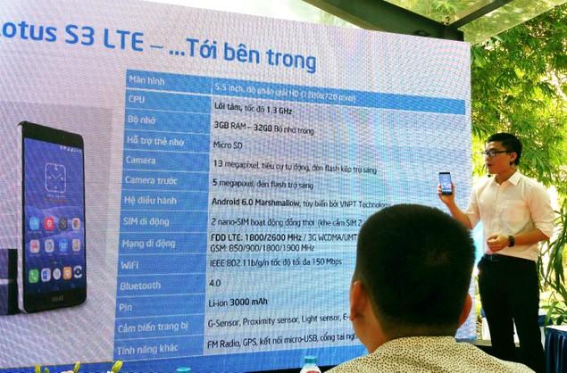 """VNPT Technology ra mắt điện thoại """"Made in Vietnam"""" Vivas Lotus S3 LTE và SmartBox PC - ảnh 1"""
