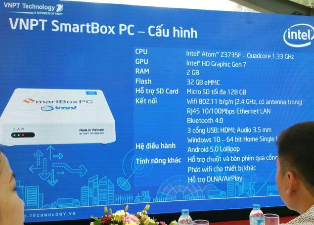 """VNPT Technology ra mắt điện thoại """"Made in Vietnam"""" Vivas Lotus S3 LTE và SmartBox PC - ảnh 4"""