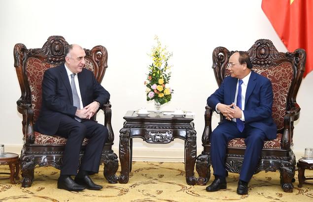 Thủ tướng tiếp Bộ trưởng Ngoại giao Azerbaijan - ảnh 1