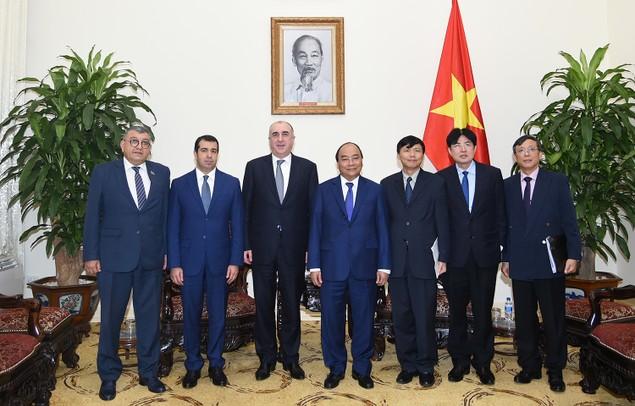 Thủ tướng tiếp Bộ trưởng Ngoại giao Azerbaijan - ảnh 2