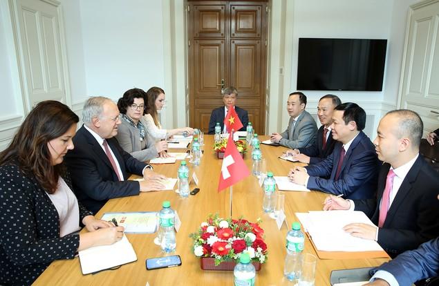 Việt Nam là đối tác hàng đầu của Thuỵ Sỹ trong ASEAN - ảnh 1