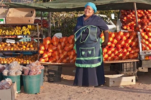 <b>8. Botswana</b><br> <br> 11,1% dân số trưởng thành của Botswana là doanh nhân. Nhiều người trong số họ mở những cửa hiệu nhỏ trên đường phố để bán hàng hóa.<br>