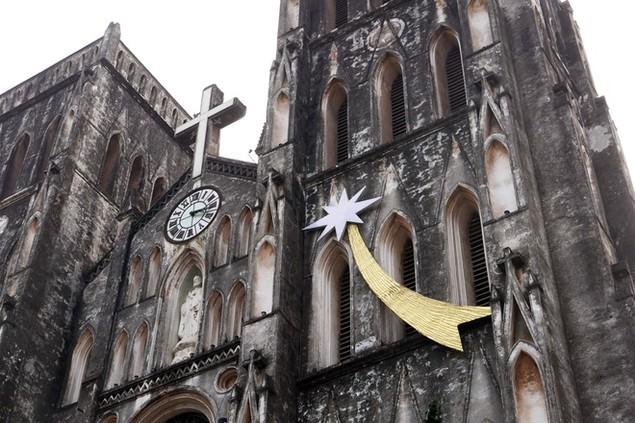 Không khí Noel tràn ngập thủ đô - ảnh 7