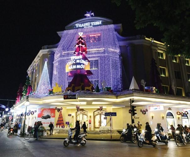 Trung tâm thương mại lung linh mùa Noel - ảnh 6