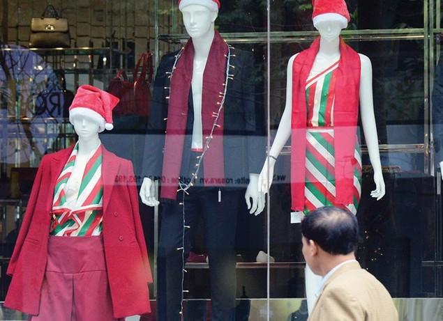 Trung tâm thương mại lung linh mùa Noel - ảnh 8