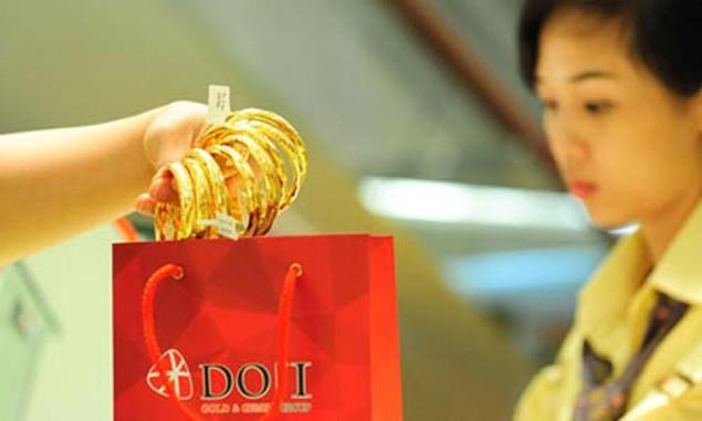 Giá vàng lên cao nhất 9 tuần vì chứng khoán Trung Quốc - ảnh 1