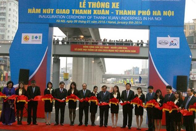 Hai hầm chui nghìn tỷ ở Hà Nội trong ngày thông xe - ảnh 4