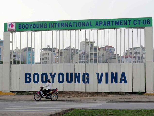 """Cận cảnh hiện trường dự án """"rùa"""" Booyoung Vina - ảnh 2"""