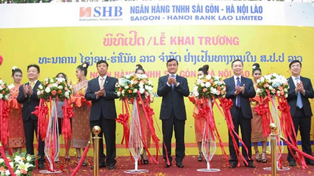 SHB ra mắt ngân hàng con 100% vốn tại Lào - ảnh 1