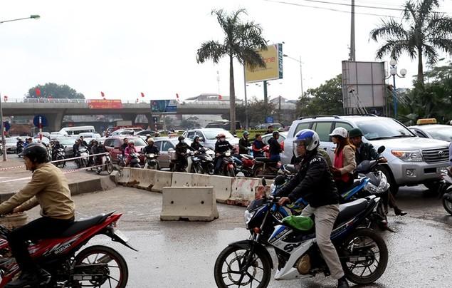 Đường vành đai 2 Nhật Tân - Cầu Giấy thông xe - ảnh 10