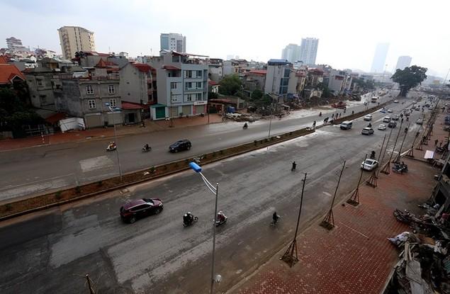 Đường vành đai 2 Nhật Tân - Cầu Giấy thông xe - ảnh 1