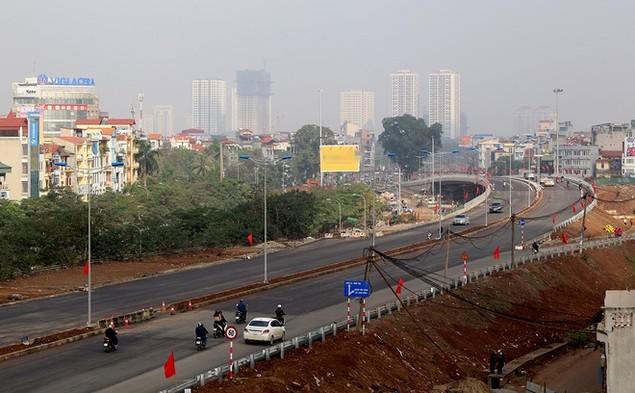 Đường vành đai 2 Nhật Tân - Cầu Giấy thông xe - ảnh 3