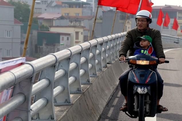 Đường vành đai 2 Nhật Tân - Cầu Giấy thông xe - ảnh 5