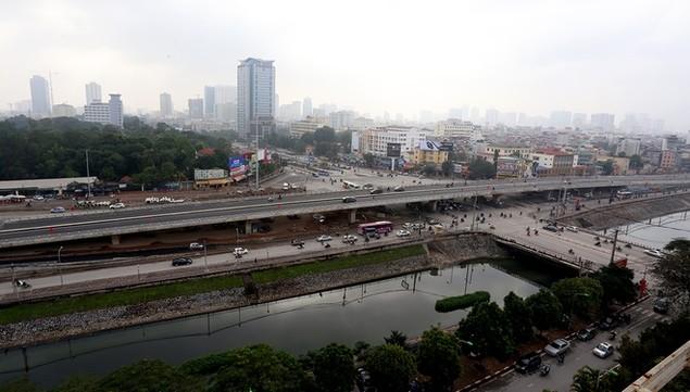 Đường vành đai 2 Nhật Tân - Cầu Giấy thông xe - ảnh 6