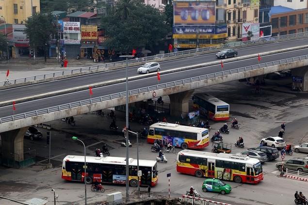 Đường vành đai 2 Nhật Tân - Cầu Giấy thông xe - ảnh 7