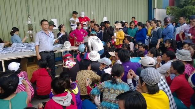 UBND TPHCM yêu cầu sớm xử vụ Cty Keo Hwa Vina nợ 20 tỷ đồng lương, BHXH - ảnh 1