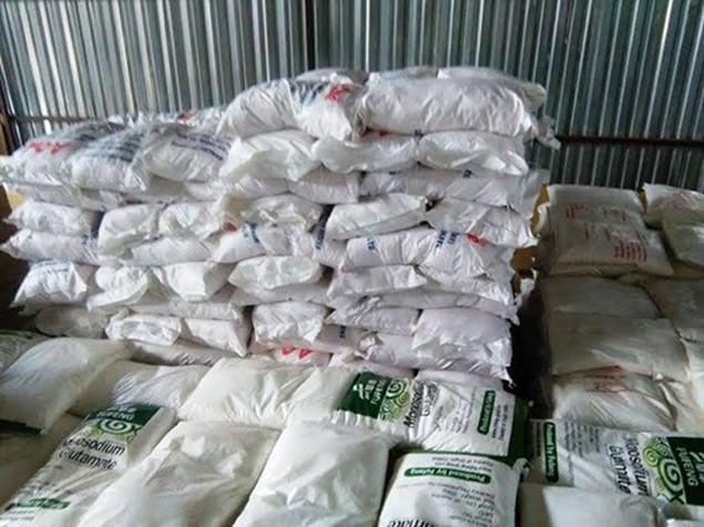 Tạm giữ hơn 108 tấn bột ngọt vỏ Việt Nam ruột Trung Quốc - ảnh 2
