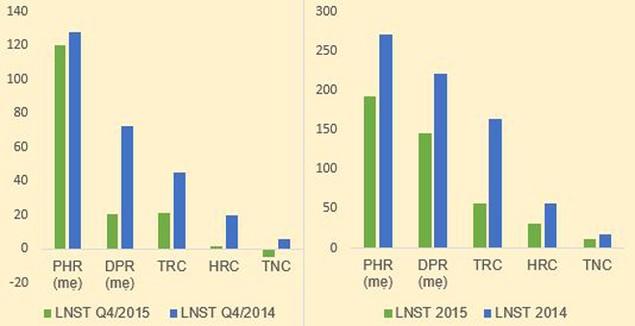 Cao su tự nhiên: 2015 lãi thấp, dè dặt kế hoạch lãi 2016 - ảnh 1