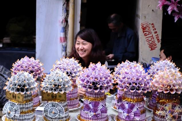 Rực rỡ phiên chợ Hà Nội cuối năm - ảnh 8
