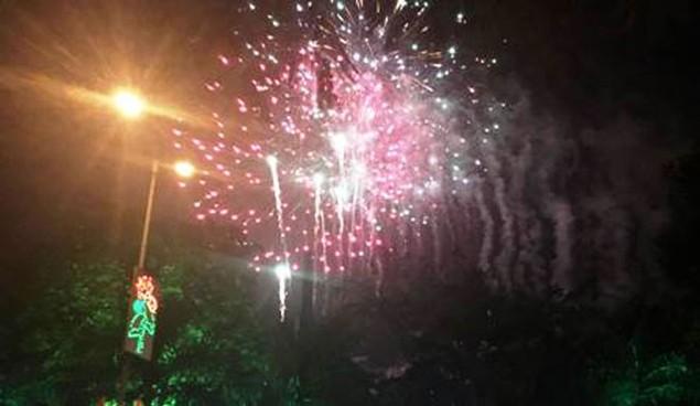 """Pháo """"nở hoa"""" trên bầu trời chào năm mới Bính Thân - ảnh 41"""