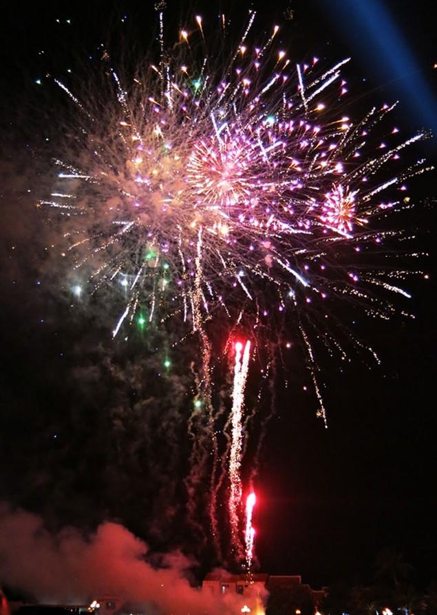 """Pháo """"nở hoa"""" trên bầu trời chào năm mới Bính Thân - ảnh 31"""