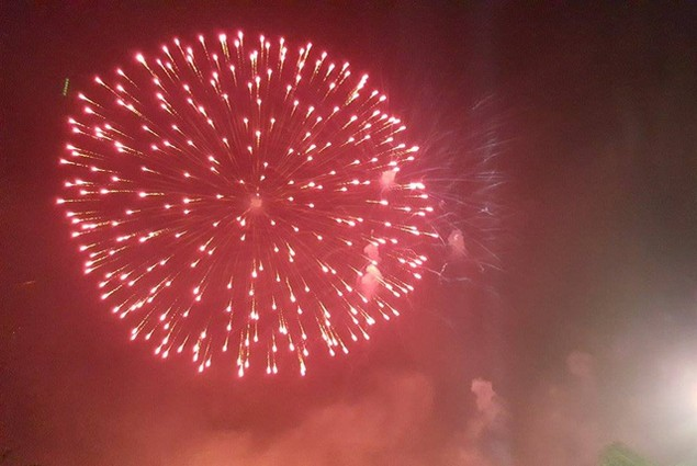 """Pháo """"nở hoa"""" trên bầu trời chào năm mới Bính Thân - ảnh 6"""