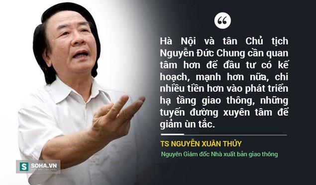 Những kỳ vọng vào Chủ tịch Hà Nội Nguyễn Đức Chung trong năm 2016 - ảnh 7