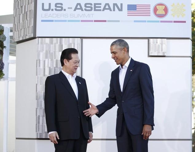 Thủ tướng Nguyễn Tấn Dũng tại hội nghị Mỹ - ASEAN - ảnh 1