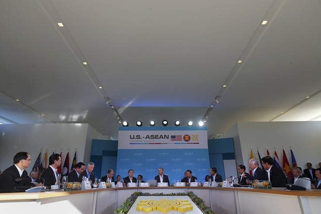 Thủ tướng Nguyễn Tấn Dũng tại hội nghị Mỹ - ASEAN - ảnh 2