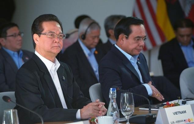 Thủ tướng Nguyễn Tấn Dũng tại hội nghị Mỹ - ASEAN - ảnh 3
