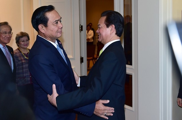 Thủ tướng Nguyễn Tấn Dũng tại hội nghị Mỹ - ASEAN - ảnh 5