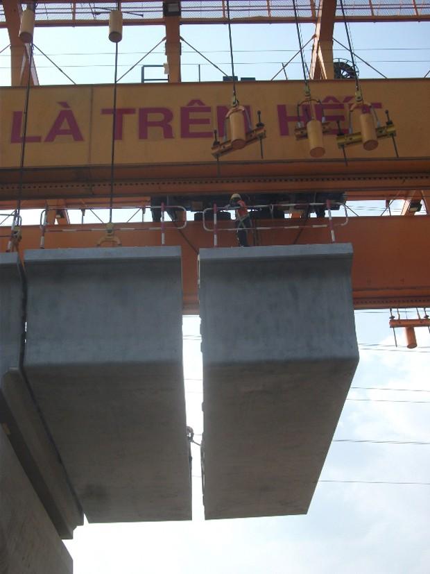 Tất bật thi công đại dự án metro số 1 Bến Thành - Suối Tiên - ảnh 14