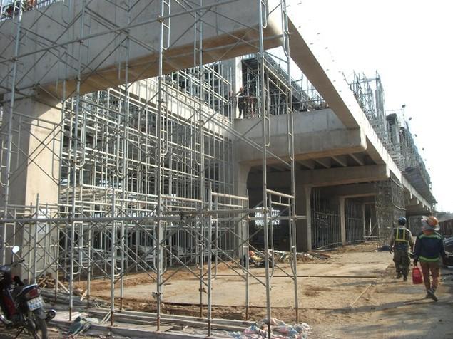 Tất bật thi công đại dự án metro số 1 Bến Thành - Suối Tiên - ảnh 20