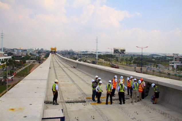Tất bật thi công đại dự án metro số 1 Bến Thành - Suối Tiên - ảnh 3