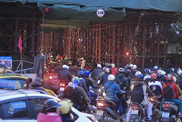 Công trình đường sắt trên cao Cát Linh-Hà Đông: Thiếu an toàn, nhiều sai phạm - ảnh 3