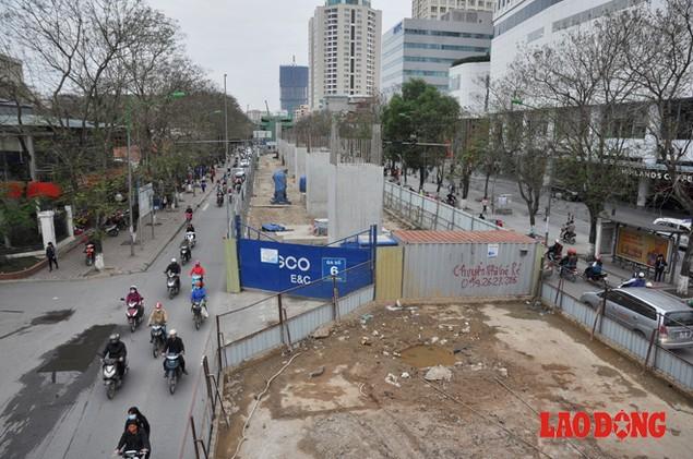 Dự án đường sắt Nhổn - Ga Hà Nội: Lập lôcốt nhưng không thi công, dân khốn khổ nhiều năm trời - ảnh 2