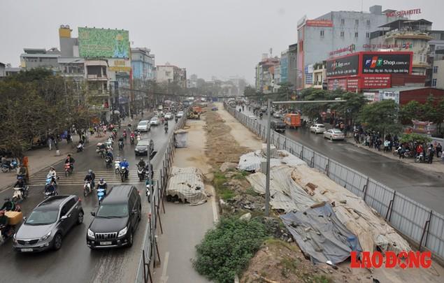 Dự án đường sắt Nhổn - Ga Hà Nội: Lập lôcốt nhưng không thi công, dân khốn khổ nhiều năm trời - ảnh 5