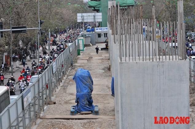 Dự án đường sắt Nhổn - Ga Hà Nội: Lập lôcốt nhưng không thi công, dân khốn khổ nhiều năm trời - ảnh 6
