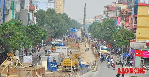 Dự án đường sắt Nhổn - Ga Hà Nội: Lập lôcốt nhưng không thi công, dân khốn khổ nhiều năm trời - ảnh 11