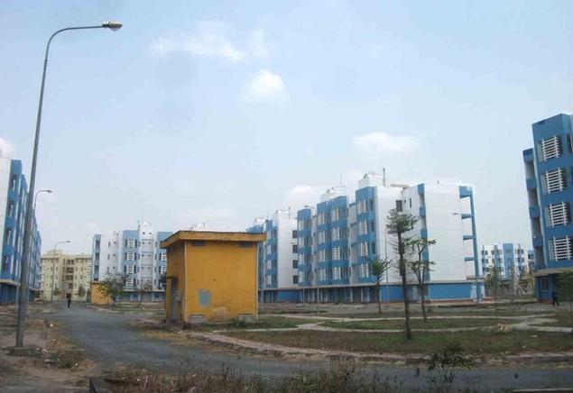 Cận cảnh sụt lún nghiêm trọng tại dự án tái định cư đồ sộ nhất TPHCM - ảnh 5
