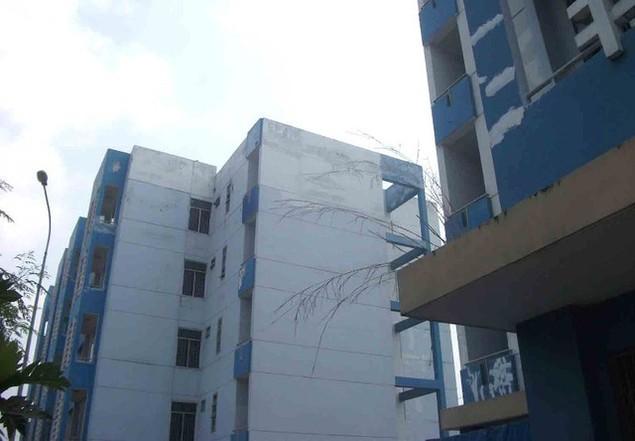 Cận cảnh sụt lún nghiêm trọng tại dự án tái định cư đồ sộ nhất TPHCM - ảnh 7