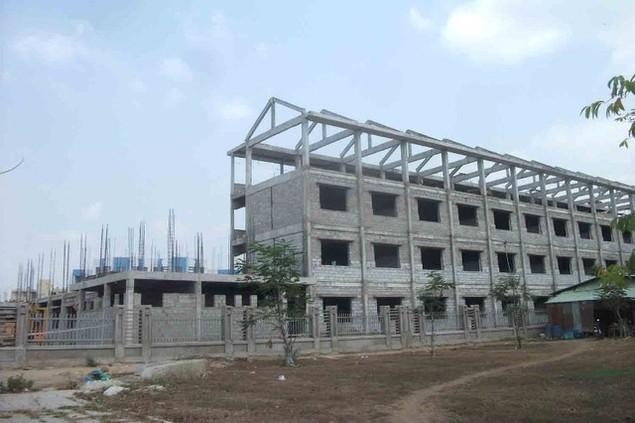 Cận cảnh sụt lún nghiêm trọng tại dự án tái định cư đồ sộ nhất TPHCM - ảnh 14