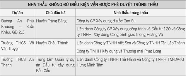 Quản lý nhà nước về đầu tư tại Tây Ninh: Quyết toán sai nhiều dự án - ảnh 1
