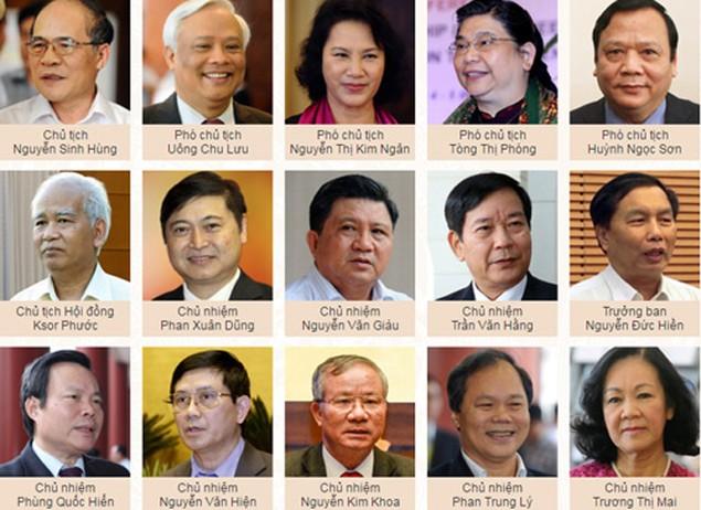 Hôm nay Quốc hội miễn nhiệm Chủ tịch Nguyễn Sinh Hùng - ảnh 2