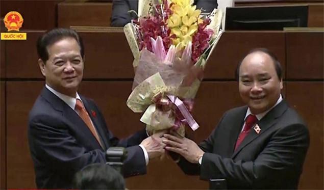 Ông Nguyễn Xuân Phúc nhậm chức Thủ tướng - ảnh 2