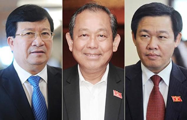 Chính thức công bố kết quả bầu 3 Phó thủ tướng, 18 bộ trưởng mới - ảnh 1