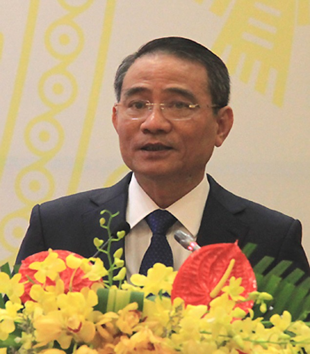 Ông Đinh La Thăng bàn giao công việc Bộ trưởng Giao thông - ảnh 1