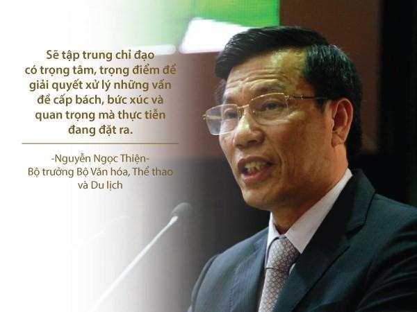 Những phát ngôn ấn tượng của các vị tân bộ trưởng - ảnh 8